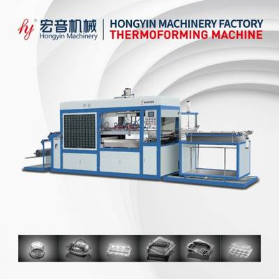 High Speed Plastic Blister Machine Thermoforming