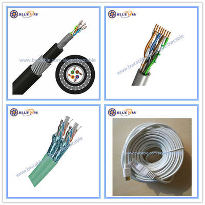 Networking LAN Cat3 Cat5 Cat5e CAT6 CAT6A Cat7 Ethernet Network Cable UTP FTP SFTP 23AWG Copper Pric