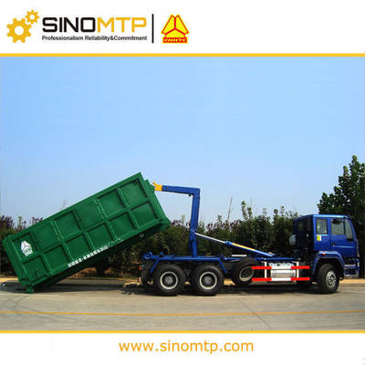 SINOTRUCK HOWO 6X4 Hook Lift Garbage Truck for sale