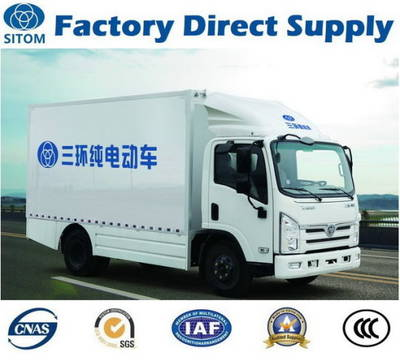 Sitom T3 4X2 7t Electric Cargo Truck (non used mini HOWO FAW Sinotruk Foton Dongfeng pick up dump ti