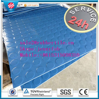 Commercial Hospital Gym Rubber Rolled Rubber Flooring, Rubber Sheet