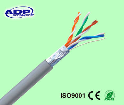 Szadp LAN Cable Cat5e UTP/FTP/SFTP Network Cable 24AWG pictures & photos