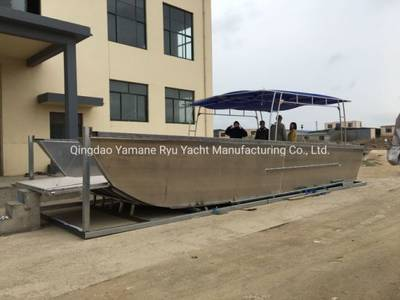 11-15m Flat Bottom Aluminum Landing Craft for Vehicles Transport