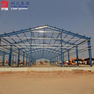 Africa ISO New Design Ready Made Light Steel Structure Warehouse