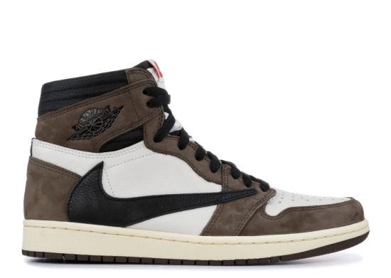 Air Aj 1 Aj1 Retro Sneakers Basketball Shoes Travis Scott