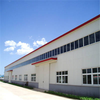 Factory Steel Construction Prefabricated Light Steel Frame Structure Modular Warehouse