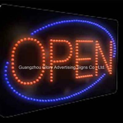 "/""Frozen YOGURT/"" Animated LED Business Plug-In Lightweight Display Sign w//Chain"