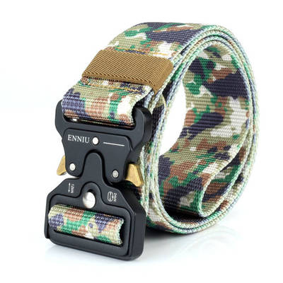 Mens Tactical Belt Military Nylon Gun Belts Concealed Carry Heavy Duty Quick Release Buckle Riggers  pictures & photos