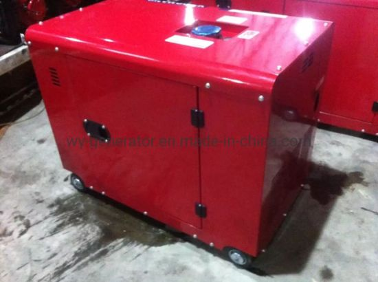 Prime Power 6kVA 6kw Silent Type Diesel Engine F186A Generator