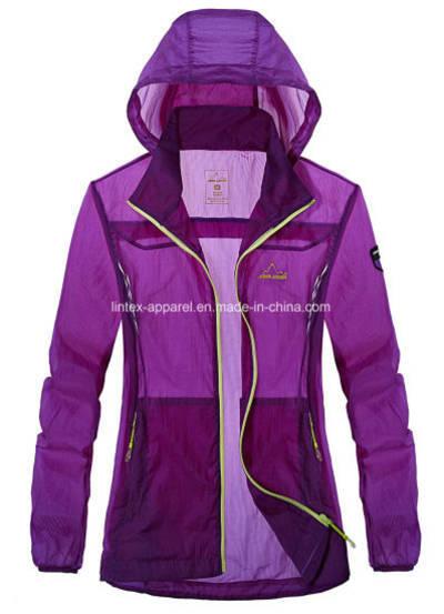 Waterproof Skinny Light Weight Jacket Outerwear Clothing Windbreaker