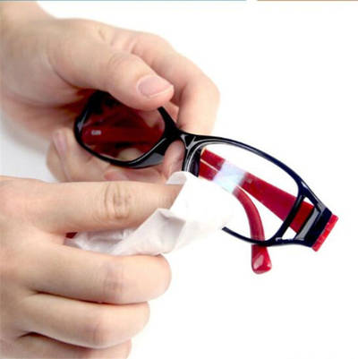 Wholesale Microfiber Fabric Lens Wipes Glasses Cleaner Wipes