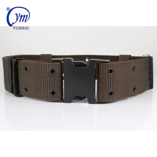 Multifunctional Heavy Duty Nylon Tactical Military Waist Webbing Belt
