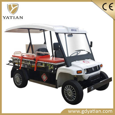 China Emgergency Golf Carts Electric Ambulance Cars Electric Utility Cars