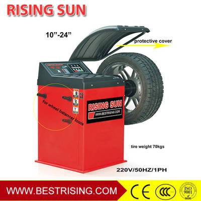 China Wheel Balancer Equipment Auto Tire Balancer Car Wheel Balancer