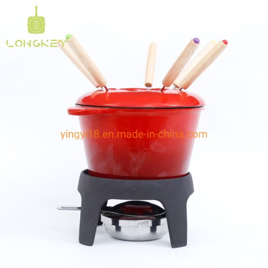 China Fondue Pot Chocolate Fondue Cheese Pot