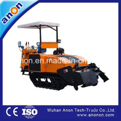 China Crawler Rotary Cultivator Rotary Cultivator Paddy Weeder Rotary Tiller