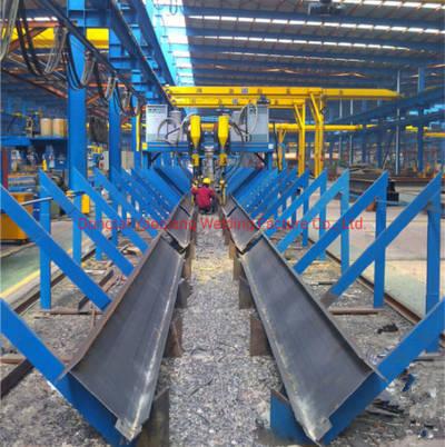 China Manufacture Lha-4000 Gantry H Beam Submerded Arc Welding Machine China Welding Machinery China