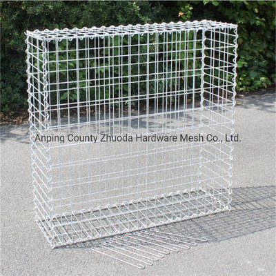 China Amazon 2X1X1 Stone Filled Welded Gabion Fence Made in