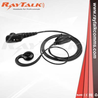Single Bluetooth Wireless Earhook Walkie Talkie Headset, Two Way Radio Headset for Motorola XTN XV Series XV1100 XV2100 XV2600 XV4100