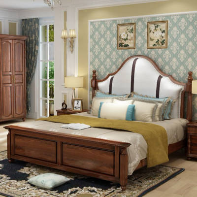China Bed Luxury Bed Solid Wood Bed Bedroom Bed From China On