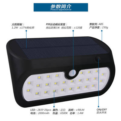 China Solar Garden Light LED Lighting LED Street Lamp