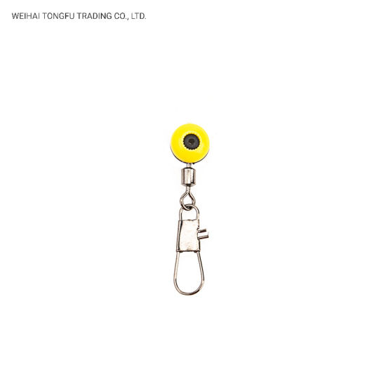 China Fishing Tackle Slider Beads Snap Links Swivel Running Beads Swivels with Safety Snap pictures & photos