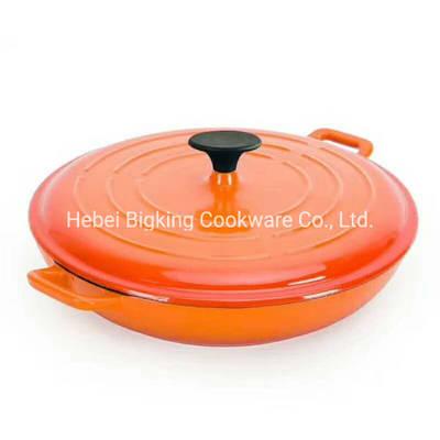 China Casserole Dutch Oven Cast Iron Pan