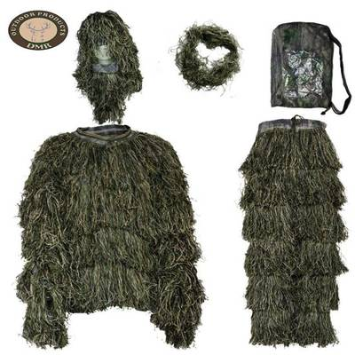 China Ghillie Suit Polyester Outdoor