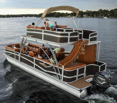 China Pontoon Boat Fishing Boat Aluminum Pontoon Boat