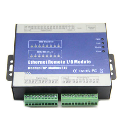 China Ethernet TCP IP Module Modbus Relay Module OEM Modbus RTU pictures & photos