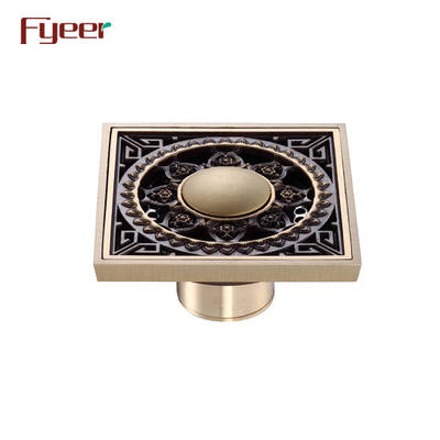 China Floor Drain Antique Floor Drain Brass Floor Drain
