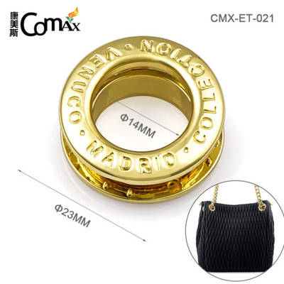China Custom Eyelets Metal Custom Eyelets Handbags Custom Eyelets