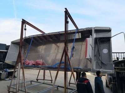 China Landing Craft Aluminum Boat Barge