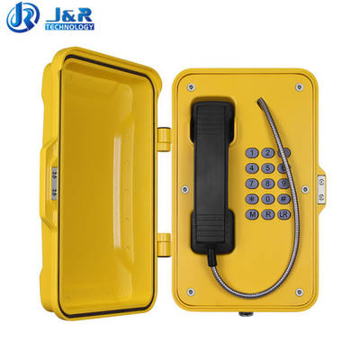 China Outdoor Industrial Telephones Weatherproof Tunnel Telephone SIP Emergency Telephone pictures & photos