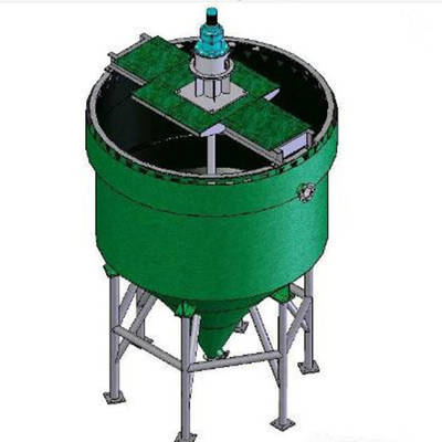 China Tailing Thickener Mine Slurry Tailing Tank Thickener Machine