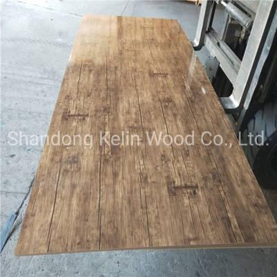 China Melamine Mdf Laminated Mdf Veneer Board Melamine Board From
