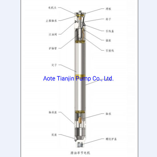 China Oil Pump Electrical Submersible Pump for Oil Esp Pump