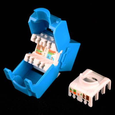 China Keystone Jack Cable Connector Communication Module pictures & photos