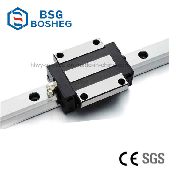 CNC Linear Guideway Rail Square type carriage bearing block Internal Width 25mm