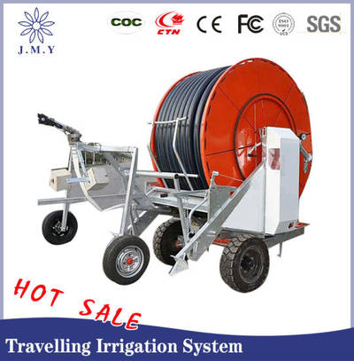 China Irrigation System Wheel Travelling Irrigation System Hose Reel Irrigation