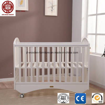 China Wooden Baby Crib Foldable Baby Cots Portable Baby Beds Kids