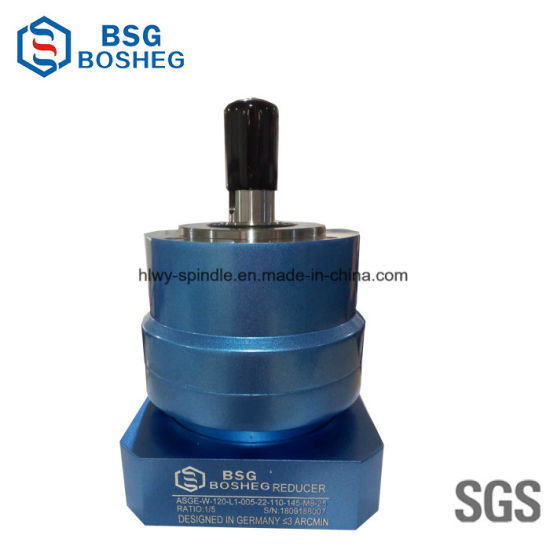 China Auto Parts Electric Motor Helical Gearbox