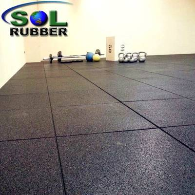 China Rubber Floor Floor Mat EPDM Rubber Floor