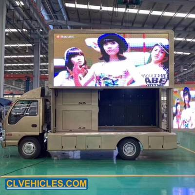 China LED Display Truck LED Advertising Truck LED Mobile Stage Truck