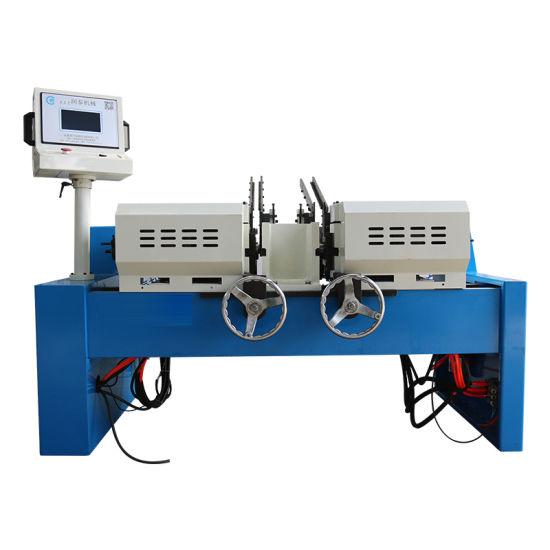 China Double Head Chamfering Machine Deburring Machine Grooving Machine