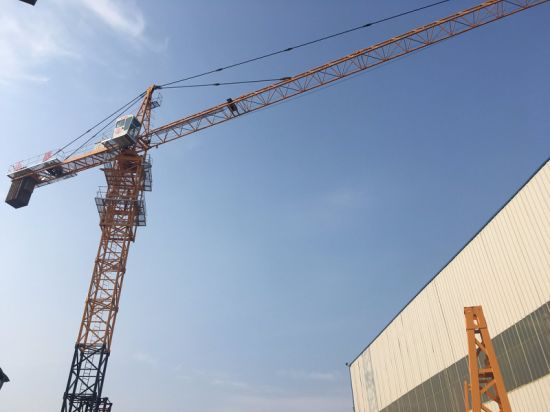 China Topless Tower Crane Max Load 16ton Tower Crane Max Jib 70m Tower Crane