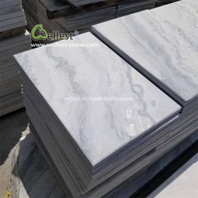 China Quartzite White Quartzite Pool Coping Tiles pictures & photos