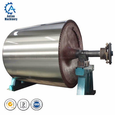 China Yankee Cast Iron Dryer Cylinder Paper Making Machine Parts