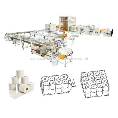 China Toilet Paper Production Line Toilet Paper Machine Paper Making Machine