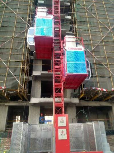 China Passenger Hoist Building Hoist Construction Lift